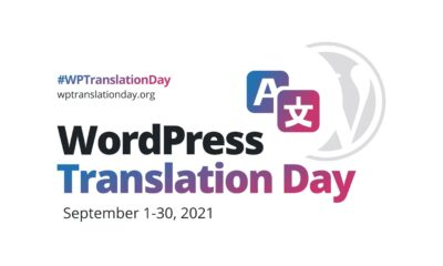 The Month in WordPress: August 2021