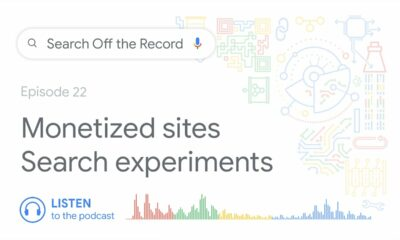 Monetized websites, search experiments, and more!
