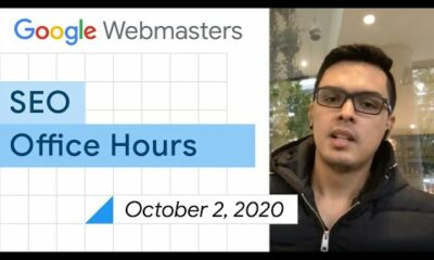 English Google SEO office-hours from October 2, 2020