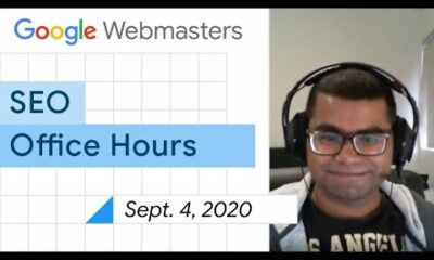 English Google Webmaster Central office-hours from September 4, 2020