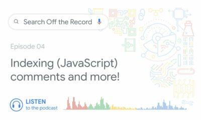 Indexing (JavaScript) comments and much more! | Search Off the Record podcast