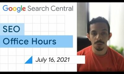 English Google SEO office-hours from July 16, 2021