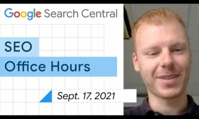English Google SEO office-hours from September 17, 2021