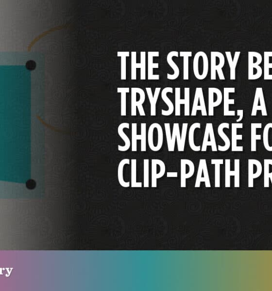 The Story Behind TryShape, a Showcase for the CSS clip-path property