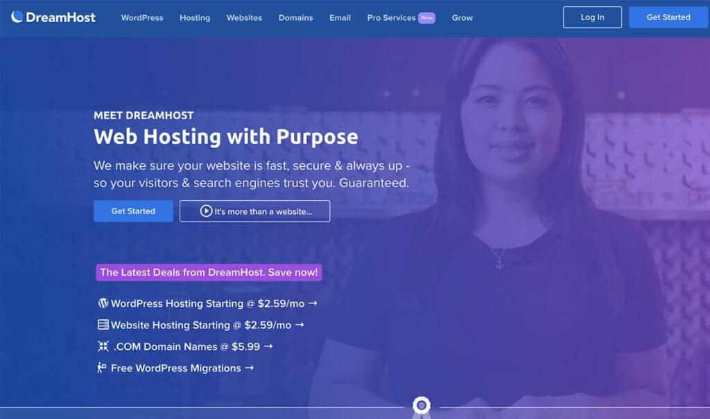 dreamhost registrar