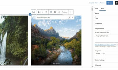 Gutenberg 11.4 Overhauls Galleries, Adds Axial Padding for Buttons, and Lays Groundwork for Global Spacing