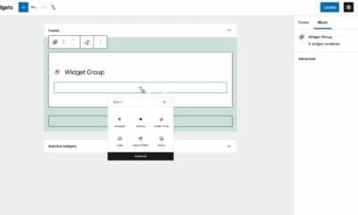 Gutenberg 11.5 Adds Widget Grouping, Iterates on the Block Gap Feature, and Updates Nav Menus