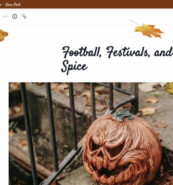 Add a Little Pumpkin Spice to Your WordPress Admin This Autumn