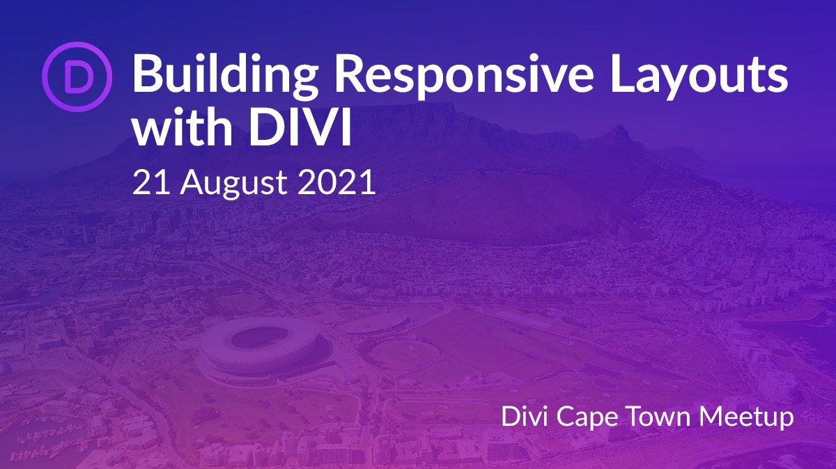 Divi Cape Town August 2021