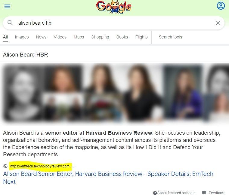 Alison beard HBR Google Search