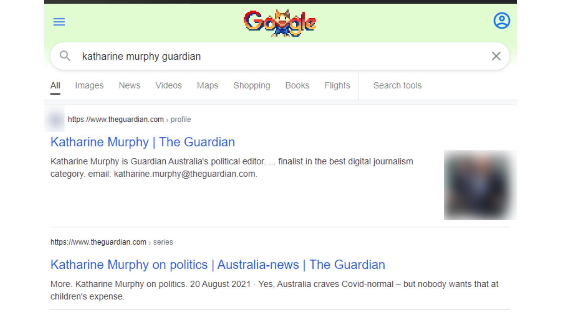 Katharine Murphy Guardian Google Search