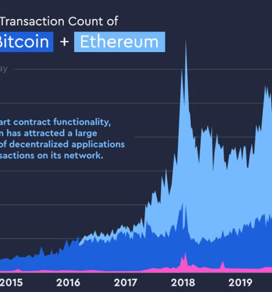 Visualizing the Rise of Cryptocurrency Transactions