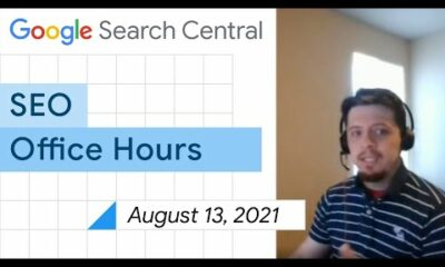 English Google SEO office-hours from August 13, 2021