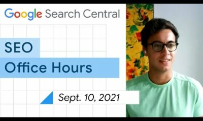 English Google SEO office-hours from September 10, 2021