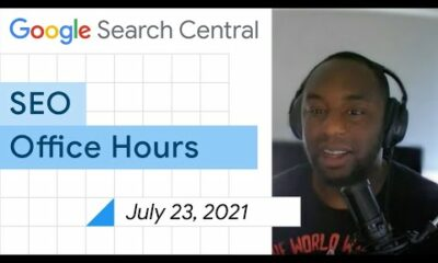 English Google SEO office-hours from July 23, 2021