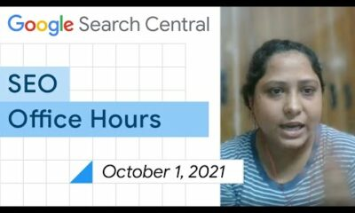 English Google SEO office-hours from October 1, 2021