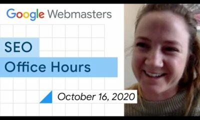 English Google SEO office-hours from October 16, 2020