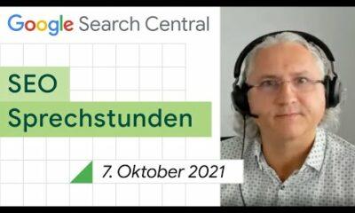 German / Google SEO Sprechstunden auf Deutsch vom 7. Oktober 2021
