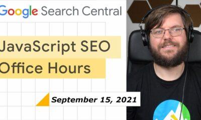 JavaScript SEO Q&A September 15, 2021
