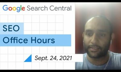 English Google SEO office-hours from September 24, 2021