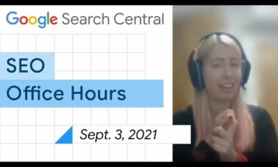 English Google SEO office-hours from September 3, 2021