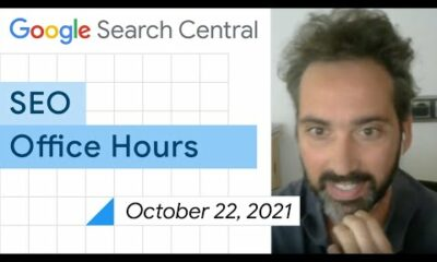 English Google SEO office-hours from October 22, 2021