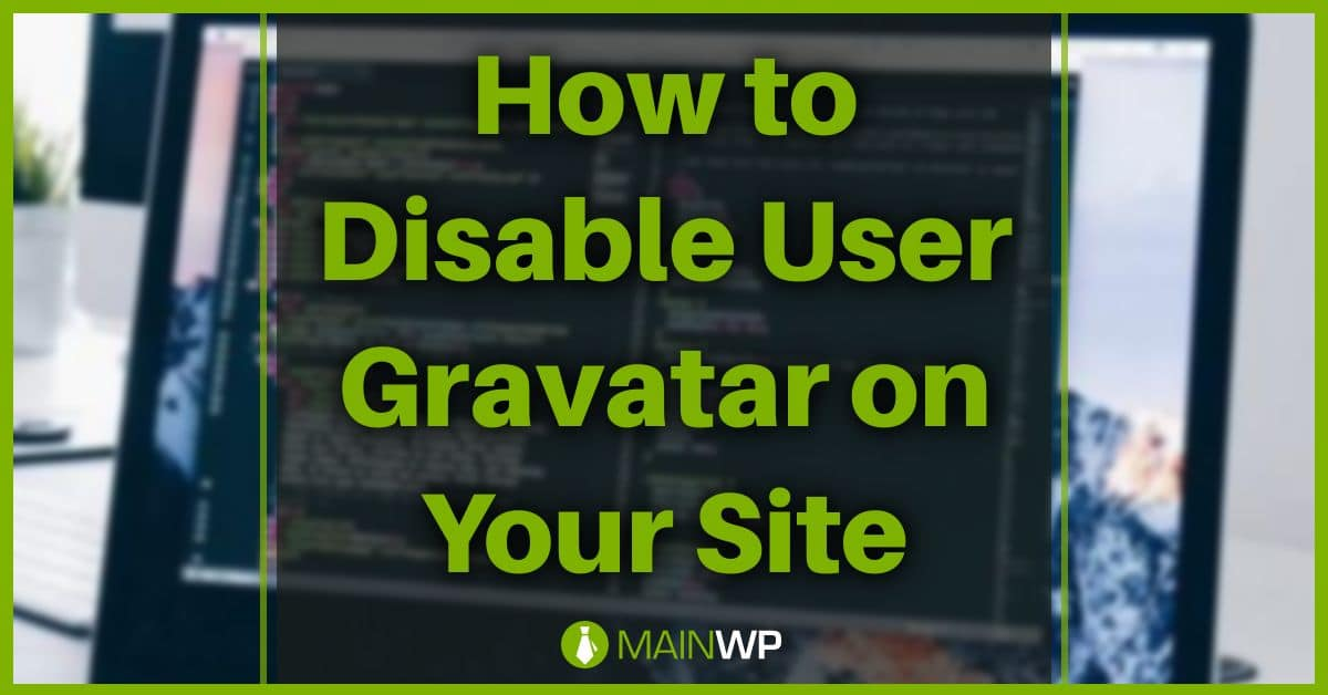How to Disable User Gravatar on Your Site