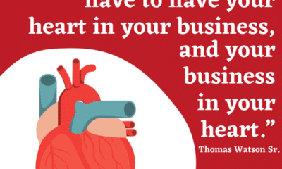 Monday Motivation! Is your heart in your business today?...