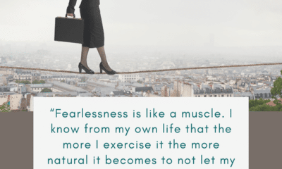 Practice being fearless today!...
