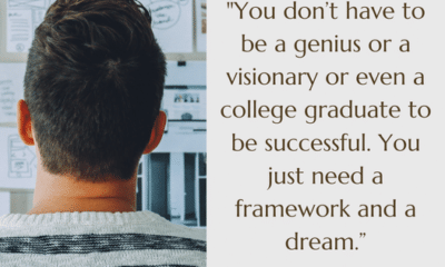 Stay motivated, building your framework, and continuing to dream!...