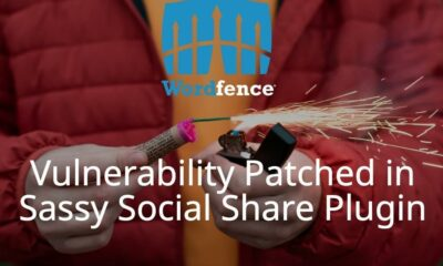 Vulnerability Patched in Sassy Social Share Plugin