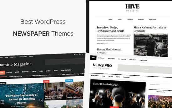 Best WordPress Newspaper Themes