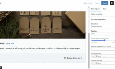 Contextually Display Content With the Block Injector Plugin
