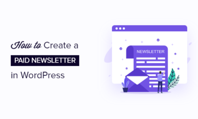 How to create a paid newsletter in WordPress (Substack alternative)
