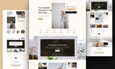 Get a FREE Blogger Layout Pack for Divi