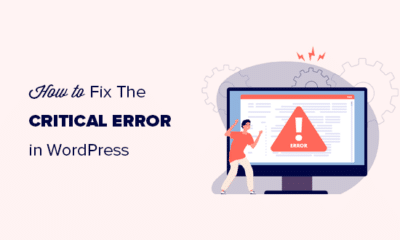 Fixing the critical error in WordPress step by step