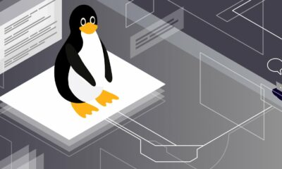Illustration for Linux commands showing Tux, the official brand character of the Linux kernel.