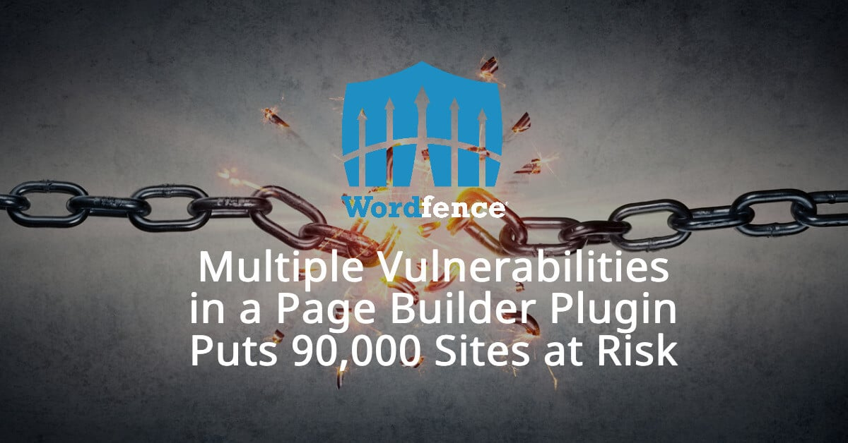 Multiple Vulnerabilities in Brizy Page Builder Plugin Allow Site Takeover